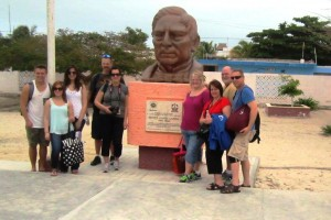 with Benito Juarez