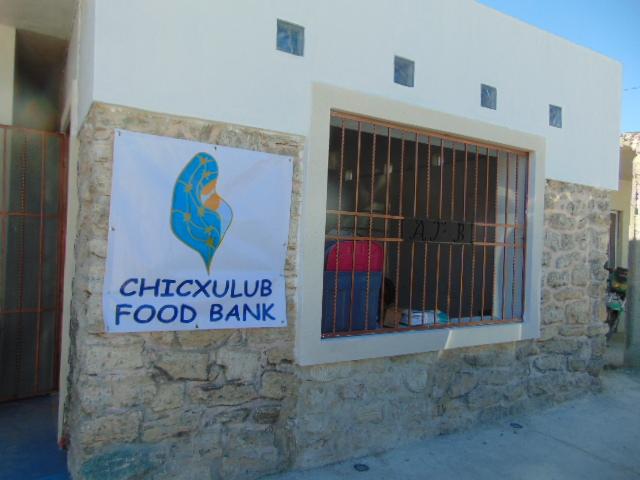Chixculub Food Bank and Las Mujeres de Chicxulub