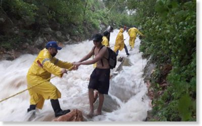 Flooding in Chicxulub Thanks to Cristobal